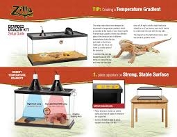 upgraded deluxe bearded dragon kit terrarium zilla