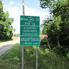 sinking spring ohio wikiwand