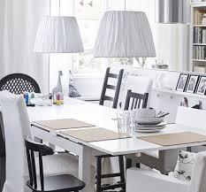 Ikea Dining Room Ideas by Ikea Dining Room Design Ideas Dark Wood Floor Simple Flower