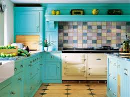 kitchen cabinet turquoise accent kitchen blue gray cabinets