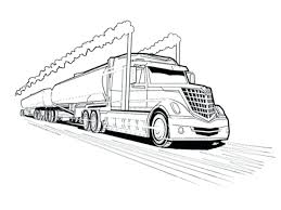 Timely Tanker Truck Coloring Pages Lego Semi T #3031 - Unknown ...