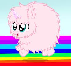 Pink Fluffy Unicorn By Mishti14
