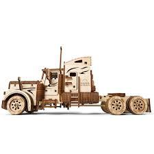 100 Wood Powered Truck UGears Heavy Boy VM03 Kit Mechanical 3D Model