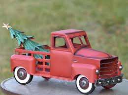 Small Red Truck W Christmas Tree Only 6999 At Garden Fun