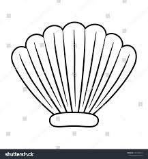 100 Sea Shell Design Isolated Vector Illustration Stock Vector Royalty