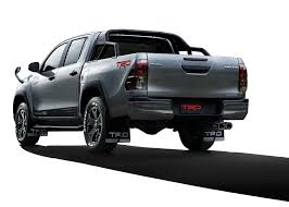 100 Blue Oval Truck Parts Toyota Reveals Japanonly Hilux Black Rally Edition With TRD
