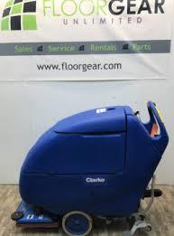 clarke floor scrubber focus ii reconditioned floor scrubbers floorgear