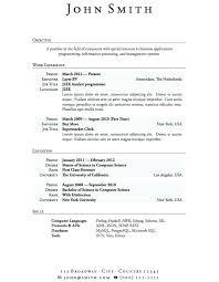 Download Free Resume Templates Australia Template