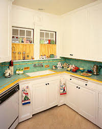 A Less Common Countertop Material Tile Allowed For Great Expression And Color Combinations Such