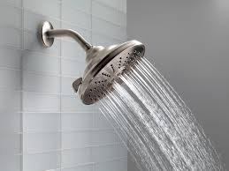 Watersaver Faucet Company Careers by Delta Faucet 52680 3 Setting Showerhead Chrome Fixed
