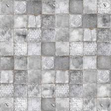Modern Kitchen Wallpaper 0093 Damaged Cement Concrete Tile Texture Seamless Hr