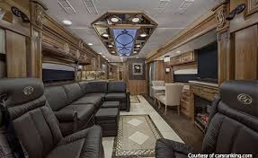 Luxury RV Motorhomes Image Inside The Entegra Coach