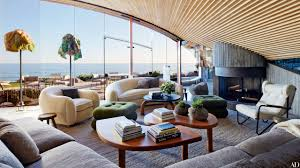 100 Beach House Interior Design A John Lautner In Malibu Is Revitalized Architectural
