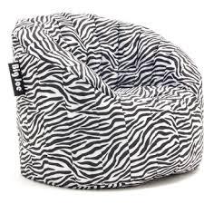 wholesale big joe lumin bean bag chair smartmax zebra sku