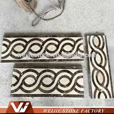 Arced Weave Simple Pattern Wall And Floor Border Design