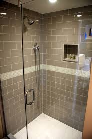 shower tile with taupe subway tile bathroom subway