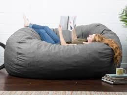 World Market Khaki Luxe Sofa by Oversized Bean Bag Chairs You U0027ll Love Wayfair