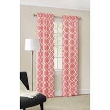 Blue Ombre Curtains Walmart by Mainstays Calix Fashion Window Curtain Set Of 2 Walmart Com