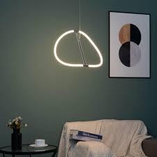 design led pendelleuchte kreisförmig molfaro