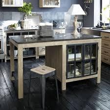 ilots cuisine ilot cuisine avec table coulissante central de newsindo co