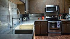 Pull Down Kitchen Faucets Pros And Cons by Black Pull Down Kitchen Faucet Concrete Kitchen Countertops And
