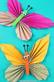 How To Make Colorful Paper Butterfly Craft