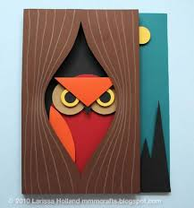 How To 3D Paper Owl