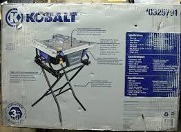 cash usa pawnshop kobalt kb7004 7 in bench tabletop tile saw