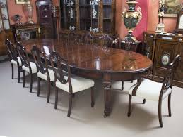 Extra Large Dining Room Tables New Antique 12ft 6quot Edwardian Table 10 Chairs