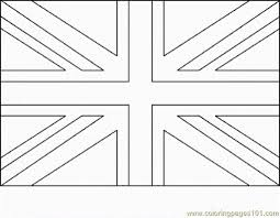 Colouring Pages Flags And Paper Piecing On Pinterest With British Flag Coloring Page