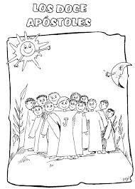 Laminas De Los Doce Apostoles Para Imprimir Atividade Extra Os