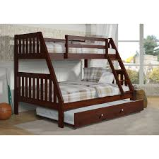 Bedding Charming Twin Over Full Bunk Bed With Trundle