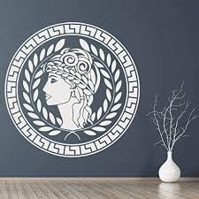 asfga aristokratische frau wandtattoos antiken griechischen