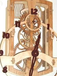 plans to build wooden gear clock pattern pdf plans
