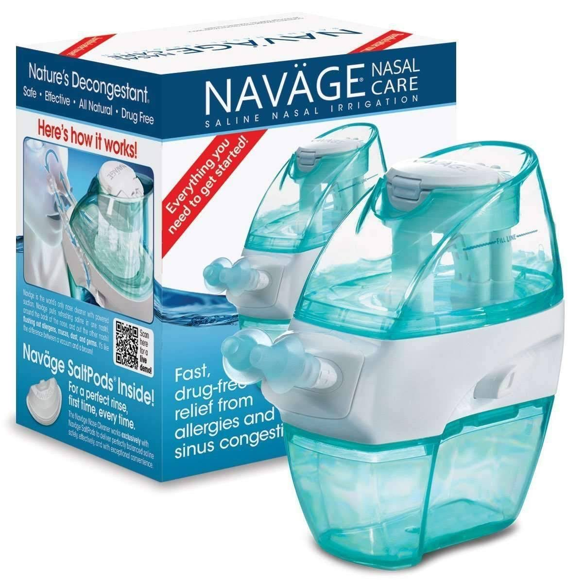 Navage Nasal Irrigation, Saline
