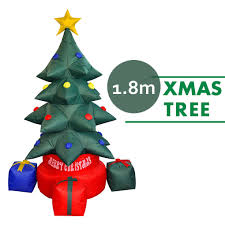 Inflatable Christmas Tree W Built In Light Xmas Decoration Airblown 6 Height