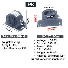 12V 80V Reverse Alarm Horn Security Alarm 105DB Loud Sound ... Best Car Dvd Parking Sensor Pz622 Four Sensors 13 Cmos 3089 Chip Haltermans Toyota New Dealership In East Stroudsburg Pa 18301 Amazoncom Matchbox Garbage Truck Lrg Amazon Exclusive Toys Games Assistances Electronics Photo Amazoncouk Allnew 2018 Jeep Wrangler Safety And Security Features Listen Free To Soundtrack Vehicle Reversing Beeps Selfdriving Trucks Are Going Hit Us Like A Humandriven Backup Sound Effect Youtube Camera Backup Automotive Safety Kansas City Install
