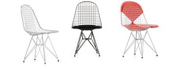 Vitra | Wire Chair DKR The Best Restaurants At Nearby The Eiffel Tower 80 Off Modernica Wire Chairs Amazoncom Ergo Furnishings Midcentury Conrad Grebel Montclair 7 Piece Ding Set With Boatshaped Oriental Fniture Waste Basket Seat Chair Household Modern Cafe White Table Delancey Gold On Rent Mw