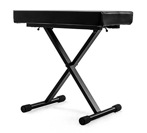 Nomad Nkb-5505 Deluxe X-style Keyboard Bench - With 265lbs Weight Capacity