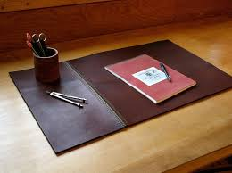 Desk Blotter Paper Pads by Accessories Leather Desk Blotter With Pen Holder How To