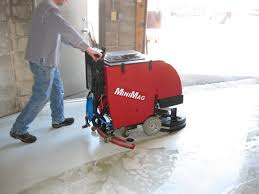 Commercial Floor Scrubbers Machines by Walk Behind Floor Scrubbing Machines Australian Sweeper Company