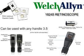 learning center welch allyn elite streak retinoscope 18245