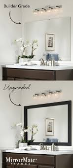 Heres An Easy Upgrade For A Builder Basic Wall Mirror