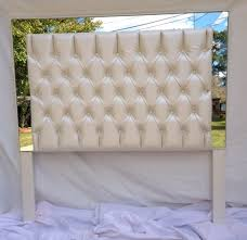 Black Leather Headboard Queen by Black Leather Tufted Headboard Home Design Ideas