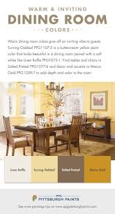 8 Best Dining Room Paint Colors Tips Images On Pinterest For Yellow Ideas