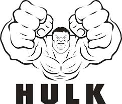 Incredible Hulk Coloring Pages Printable Freecoloring Org