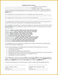 Event Planner Agreement Template Contract Wedding Free Musician Monster Affiliate Even
