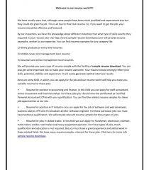 Resume Free Sample Lifeguard Swim Instructor Examples Ofe