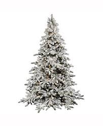 Vickerman 10 Flocked Utica Fir Artificial Christmas Tree With 1450 Warm White LED Lights