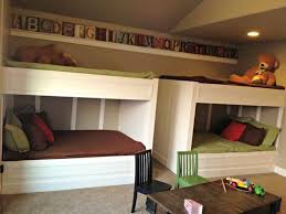 Double Bed Tags Custom Bunk Beds Built Into The Wall Cozy